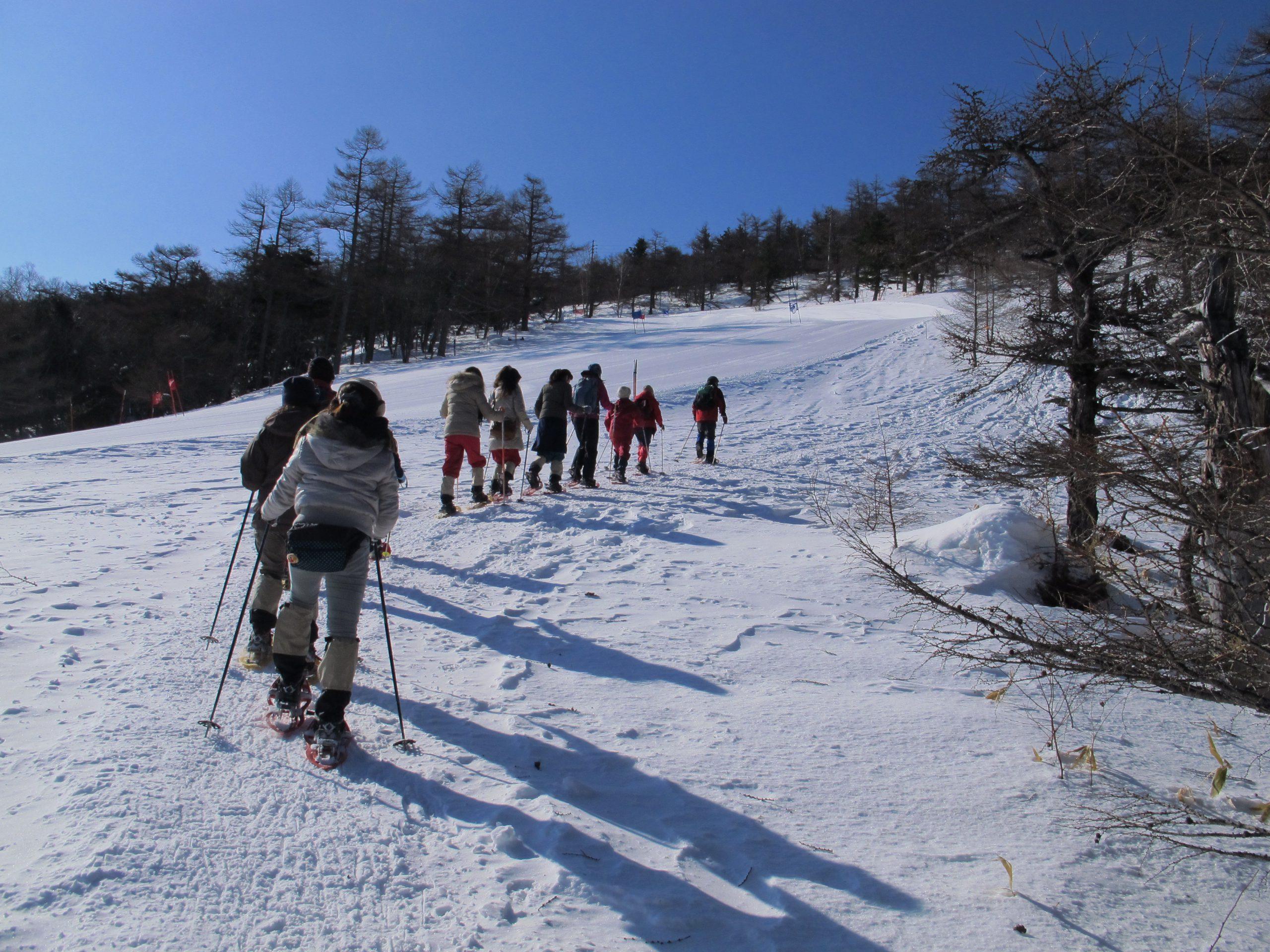スノーシュー高峯山 002