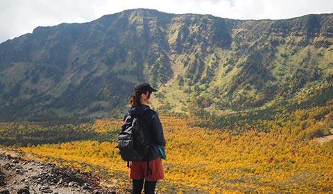 A.登山道からの眺め イメージ