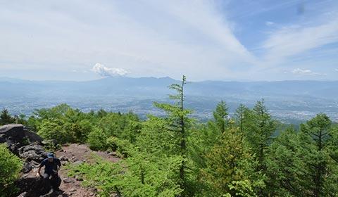 高峰山山頂 イメージ