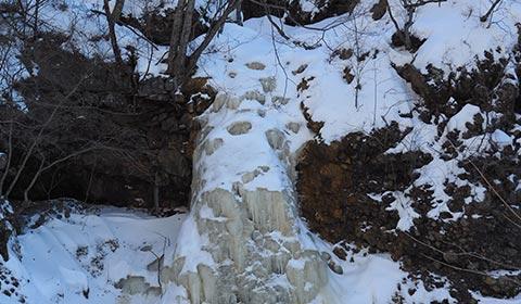 不動滝(氷瀑) イメージ