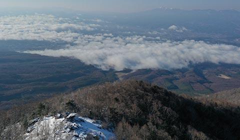 高峰山山頂(冬) イメージ