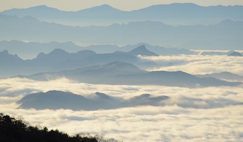 雲海ポイント(冬) イメージ